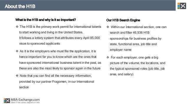 H1B Sponsorship - 2018 Business Profiles Report