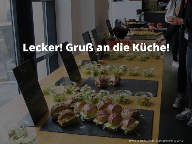 photo by Lutz Schmitt – licensed under cc-by 4.0 Lecker! Gruß an die Küche!