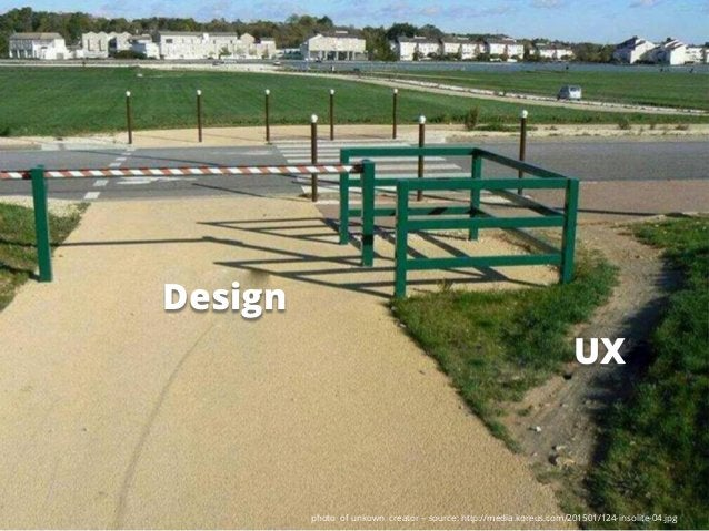 photo of unkown creator – source: http://media.koreus.com/201501/124-insolite-04.jpg Design UX