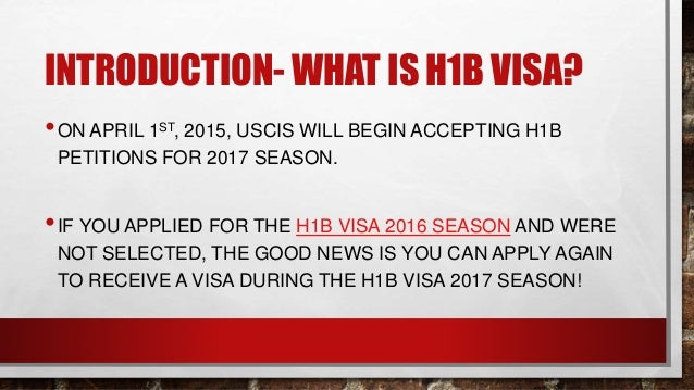 what is h1b