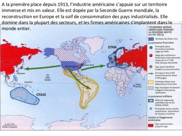 B) Une économie-monde multipolaire : des centres névralgiques multiples et interconnectés 1) Le constat d'une économie mon...