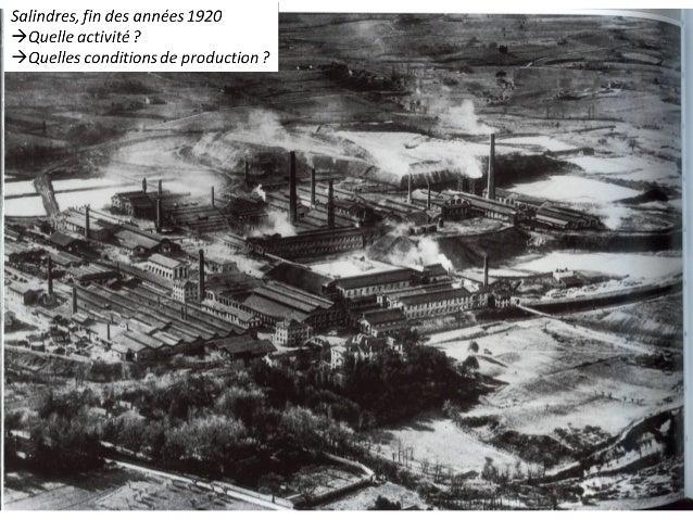 La 2ème RI voit l'apparition de nouveaux secteurs : constructions mécaniques, chimie (ex de Salindres), industrie électriq...