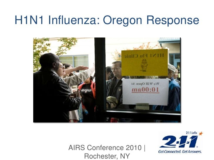 H1N1 Influenza: Oregon Response<br />