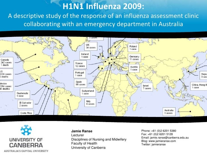 H1N1 Influenza 2009: A descriptive study of the response of an influenza assessment clinic collaborating with an emergency...