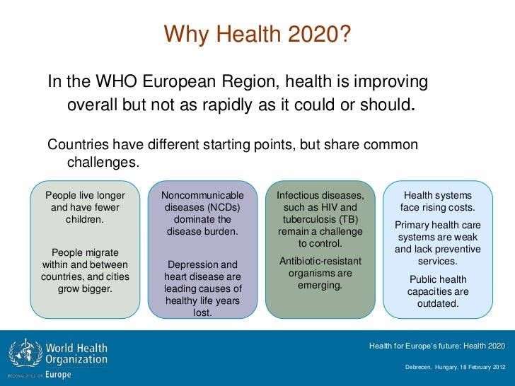 why health is important/39042547.html The world health report 2008 - primary health care (now more than ever) why a renewal of primary health care (phc), and why now, more than ever the immediate answer is the palpable demand for it from member states – not just from health professionals, but from the political arena as well.