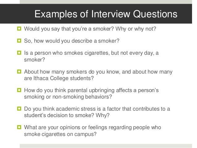 Independent Study College Students Attitudes Toward Cigarette Smoki