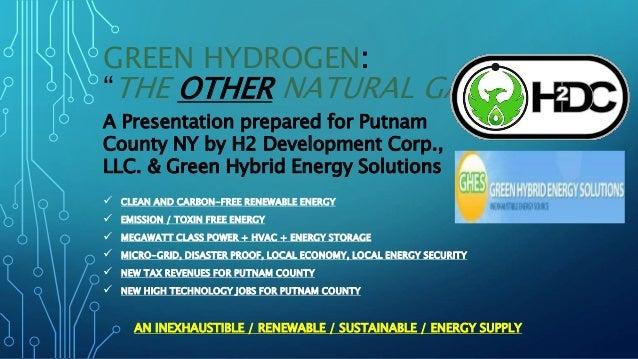 H2 dev co 2018 green h2 ppt presentation copy