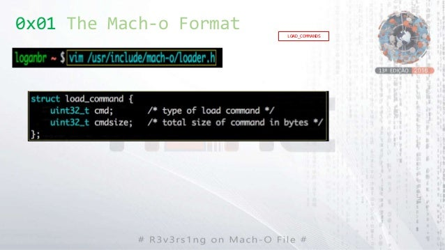 LOAD_COMMANDS 0x01 The Mach-o Format
