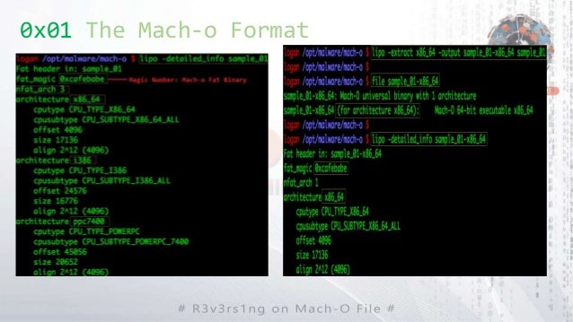 0x01 The Mach-o Format