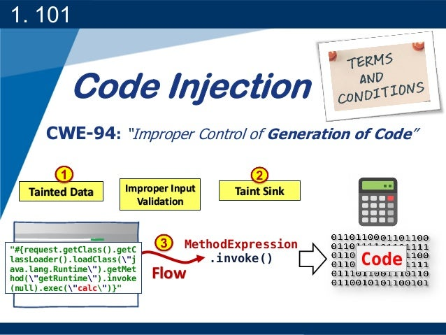A little bit about code injection in WebApplication