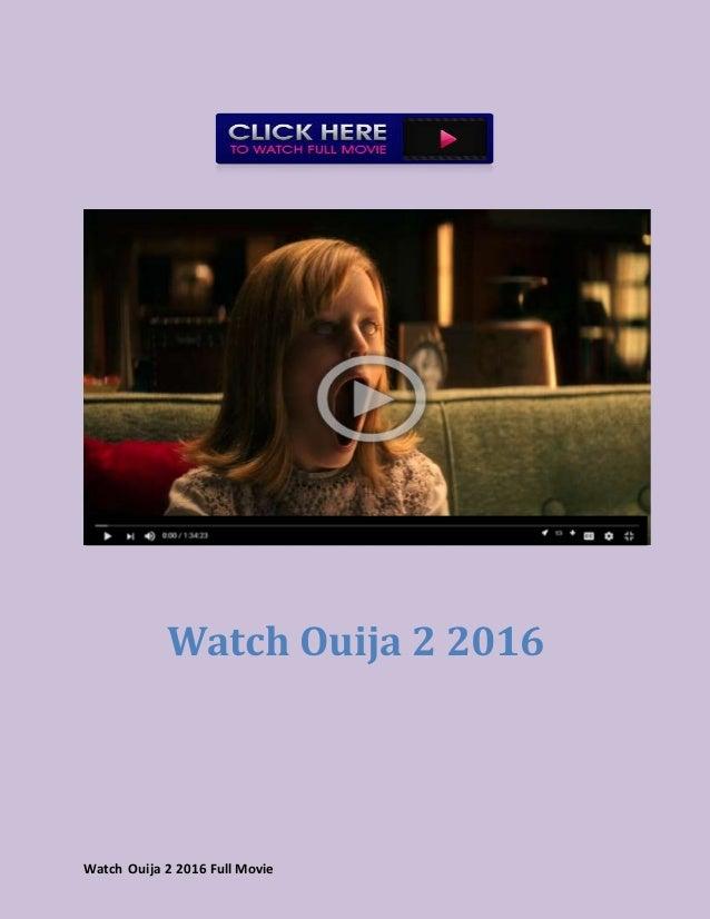 Watch Ouija 2 (2016) full movie hd free - 웹
