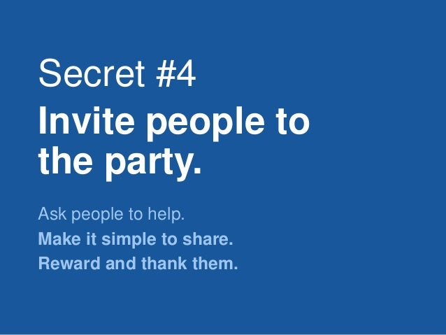 Four Secrets to Making Things Crowd Worthy Slide 31