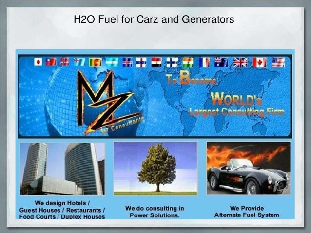 H2O Fuel for Carz and Generators