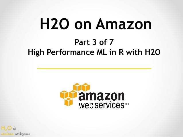 High Performance Machine Learning in R with H2O