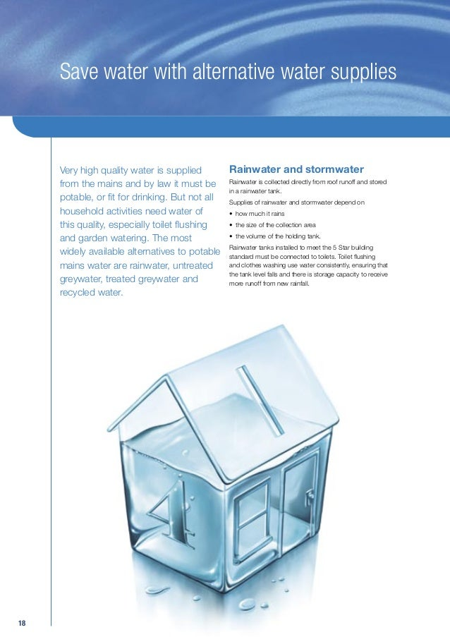 A Guide To Permanent Water Savings In Your Home