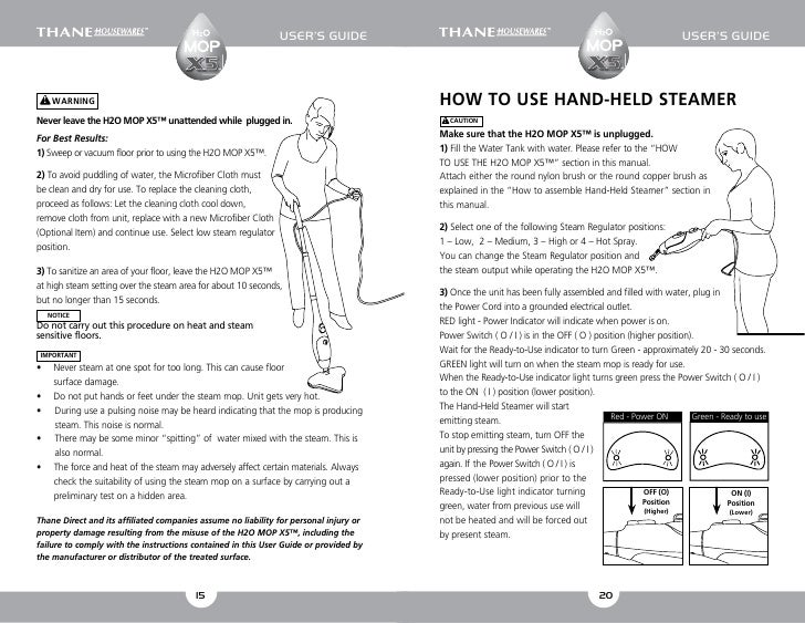 H2o mop x5 user guide english users guide sciox Images