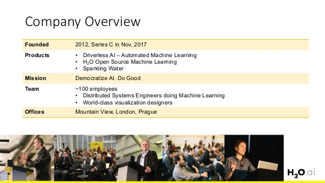 Scalable and Automatic Machine Learning with H2O Slide 3