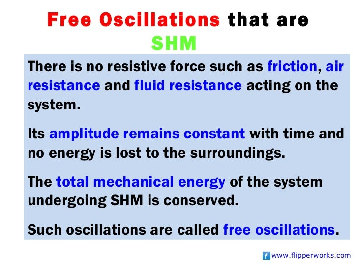 Free and forced vibrations.