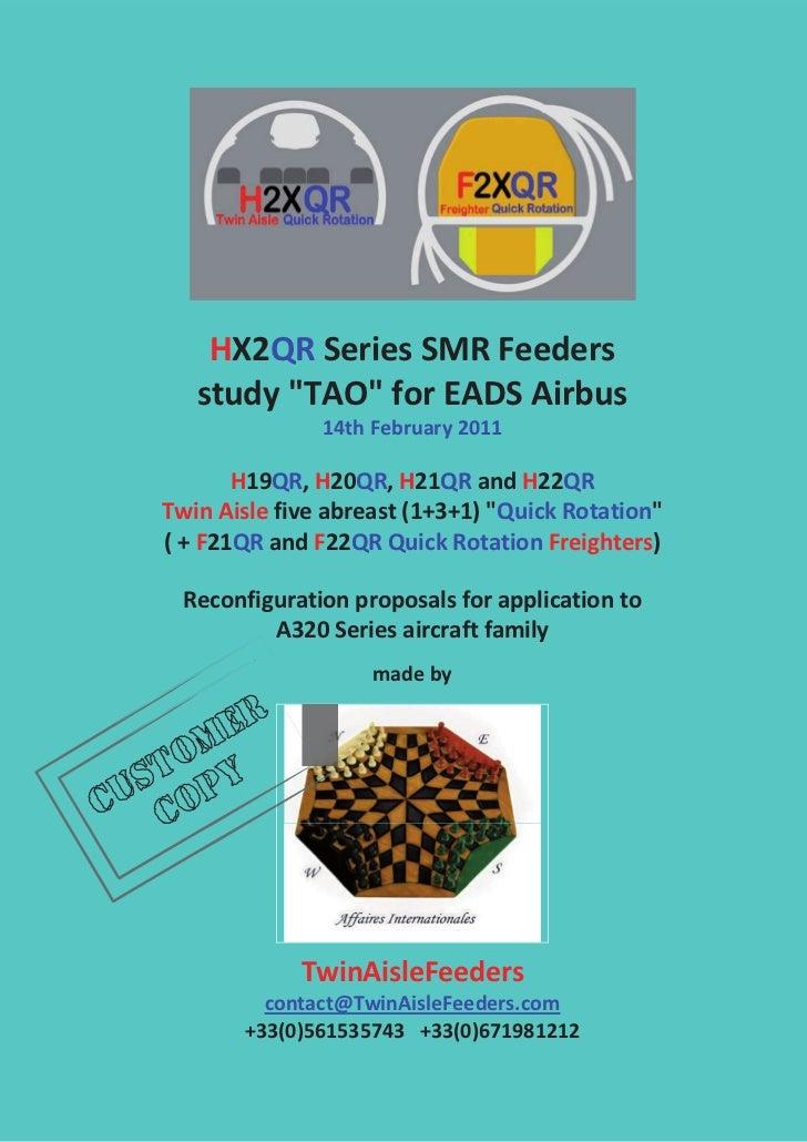 """HX2QRSeriesSMRFeeders       study""""TAO""""forEADSAirbus                    14thFebruary2011                       ..."""