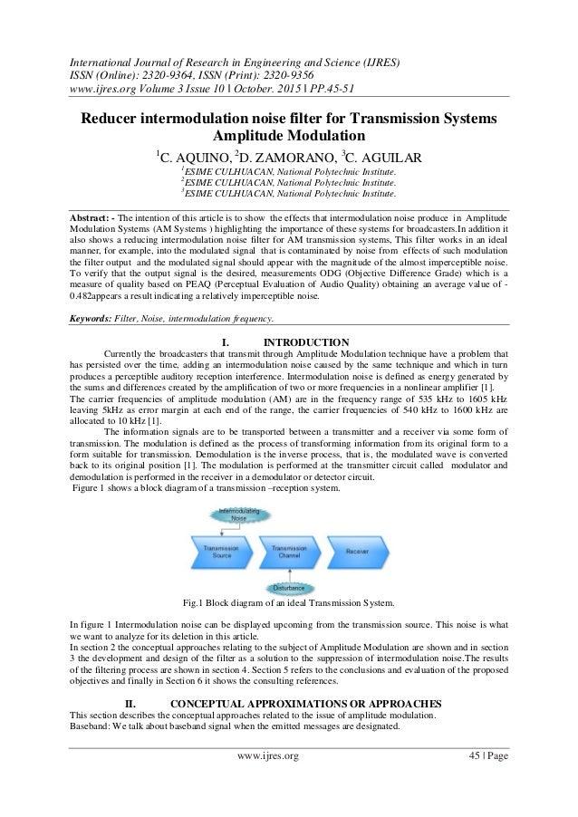 block diagram reducer reducer intermodulation noise filter for transmission systems amplitu    block diagram reduction problems reducer intermodulation noise filter