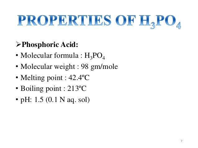 Phosphoric Acid Chemical Formula Imagenesmy
