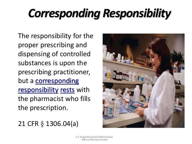 Rx16 pharma tues12301ashley – Responsibility of a Pharmacist