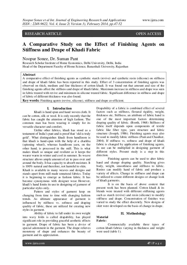 Noopur Sonee et al Int. Journal of Engineering Research and Applications ISSN : 2248-9622, Vol. 4, Issue 2( Version 3), Fe...