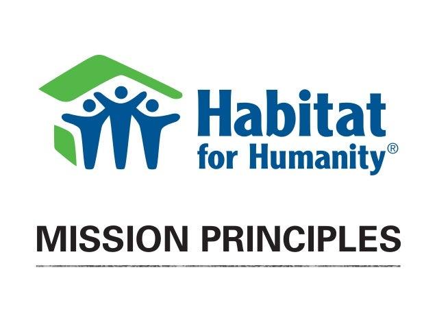 MISSION PRINCIPLES