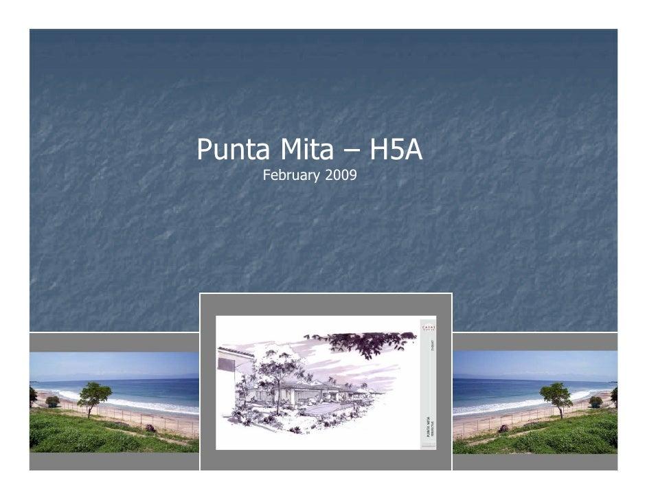 Punta Mita – H5A     February 2009