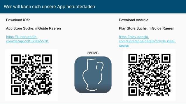 Wer will kann sich unsere App herunterladen Download iOS: App Store Suche: mGuide Raeren https://itunes.apple. com/de/app/...