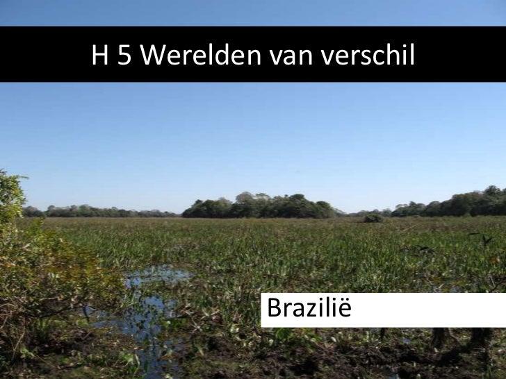 H 5 Werelden van verschil             Brazilië