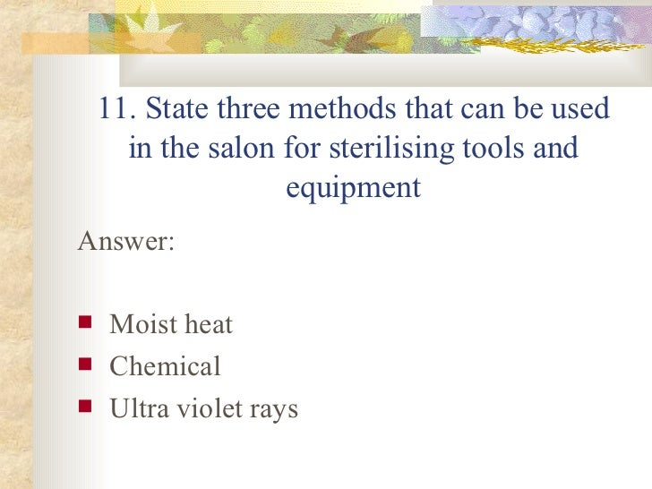 H6 revision for 3 methods of sterilization in the salon