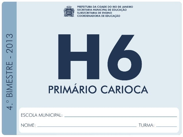 HISTÓRIA–6.ºAno 4.ºBIMESTRE/2013 EDUARDO PAES PREFEITURA DA CIDADE DO RIO DE JANEIRO CLAUDIA COSTIN SECRETARIA MUNICIPAL D...