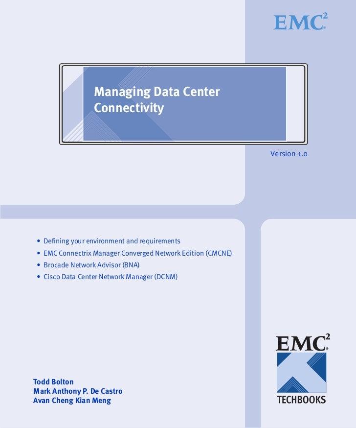Managing Data Center                 Connectivity                                                             Version 1.0•...