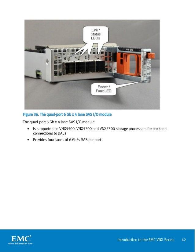 Introduction to the EMC VNX Series VNX5100, VNX5300, VNX5500