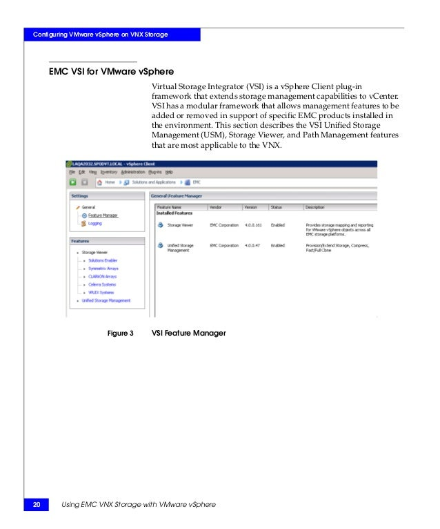 Techbook Using Emc Vnx Storage With Vmware Vsphere