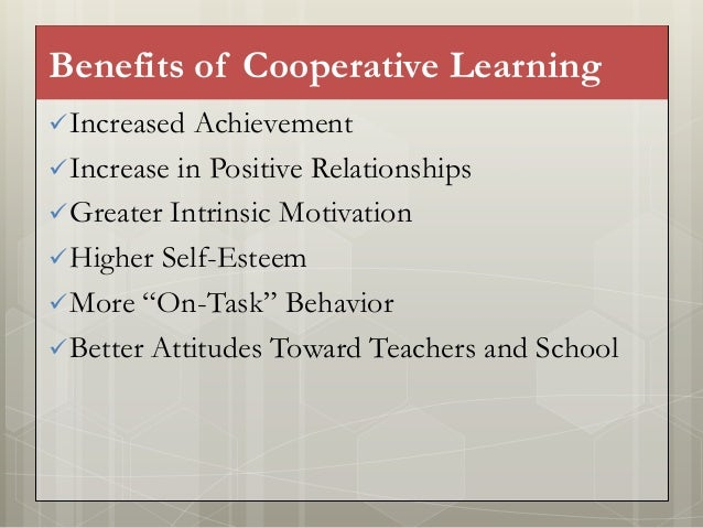 Collaborative Teaching Benefits To Students ~ Cooperative and collaborative learning