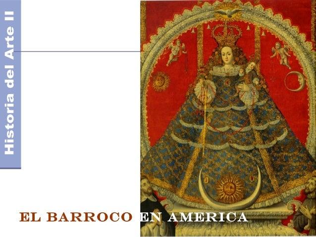 El Barroco EN AMERICA