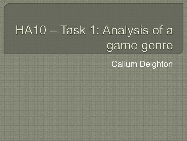 Callum Deighton