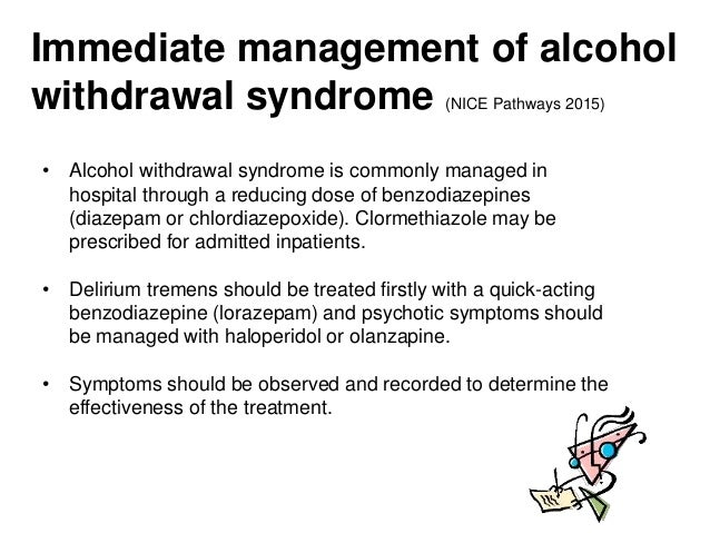 alcohol withdrawal, Skeleton