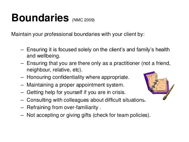 Quiz to assess your professional boundaries