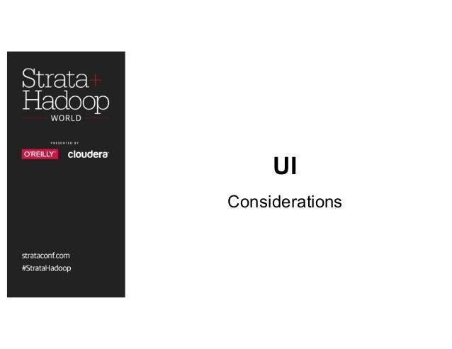 UI Considerations