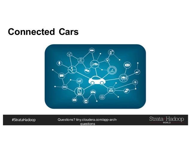 Questions? tiny.cloudera.com/app-arch- questions Connected Cars