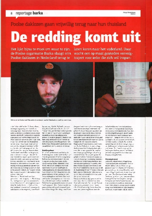 Haags straatnieuws 04 2012