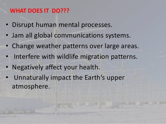 Haarp and global warming