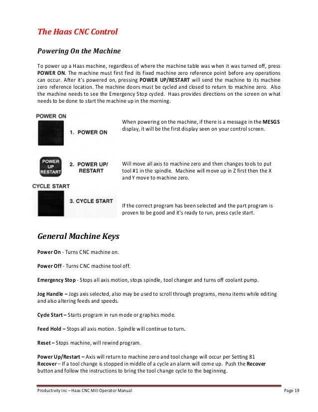 haas mill operator manual rh slideshare net CNC Machinist Training CNC Machinist Logo