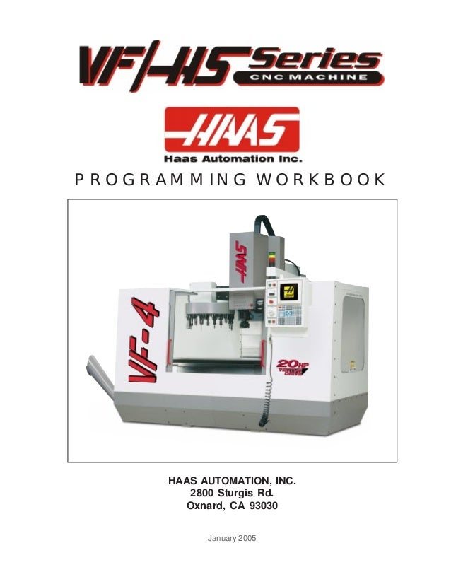 haas cnc mill programming manual