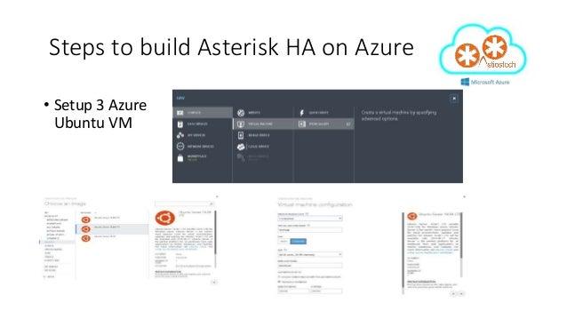 High Availability Asterisk and FreePBX on Microsoft Azure
