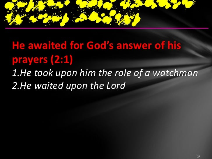 surely this cannotbe your answerIsaiah 40:31but those who (wait upon) hope in theLord will renew their strength.