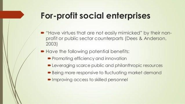 Habaradas - Managing for-profit social enterprises